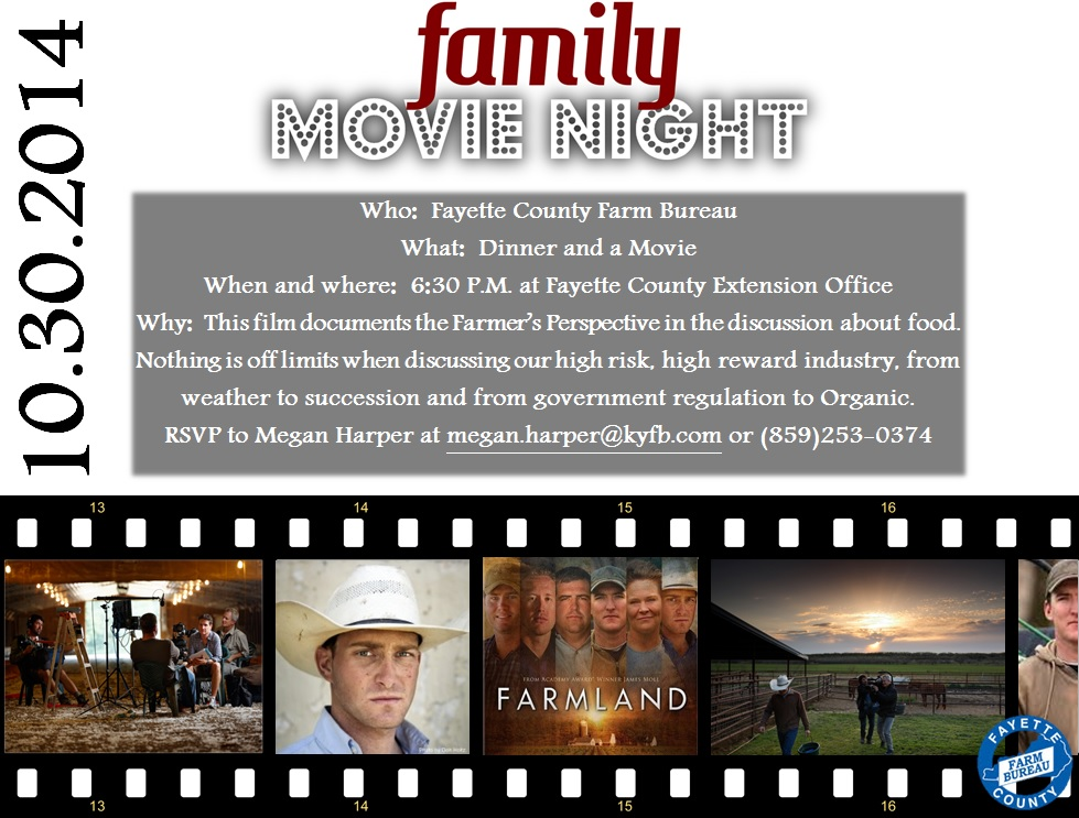 Farmland Movie Night